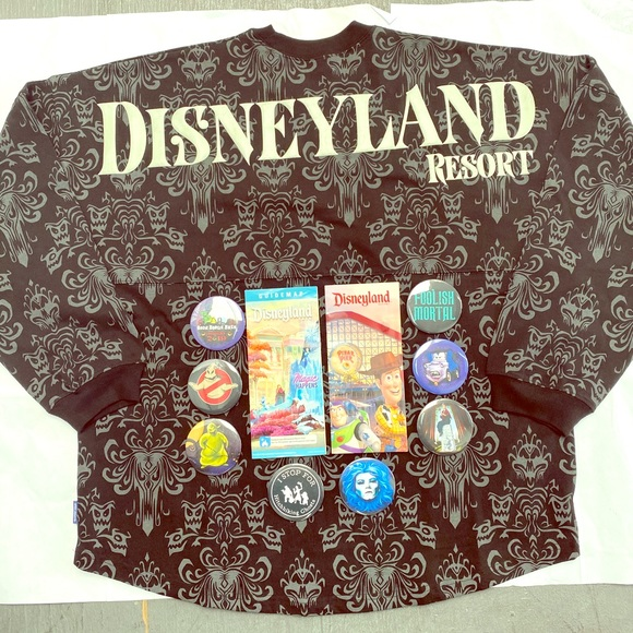 Disney Parks Disneyland 2020 Haunted Mansion Spirit Jersey All Sizes